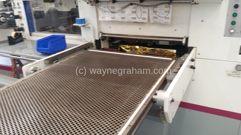 Image of Used MK Multifoil 1060ST Hot Foiling Machine
