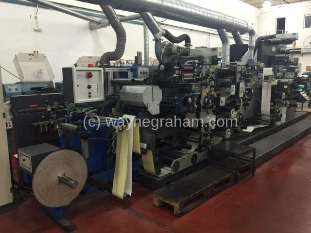 Image of Used Gallus R 200 Label Web Press