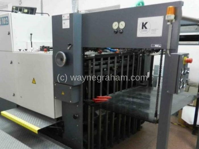 Image of Used Kama TS 102 Die Cutter