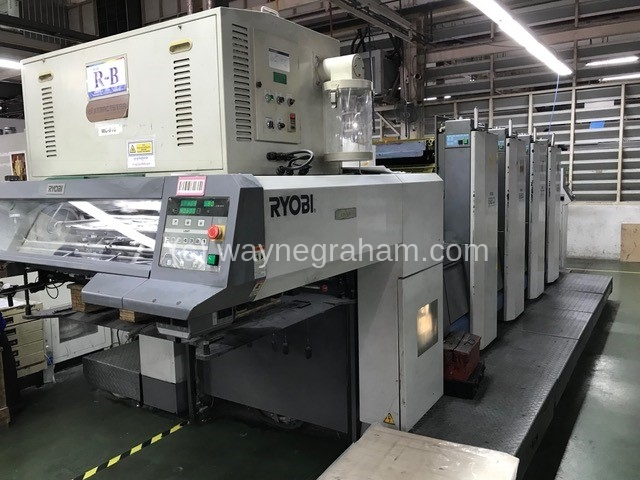 Image of Used Ryobi 924 Four Colour Printing Press