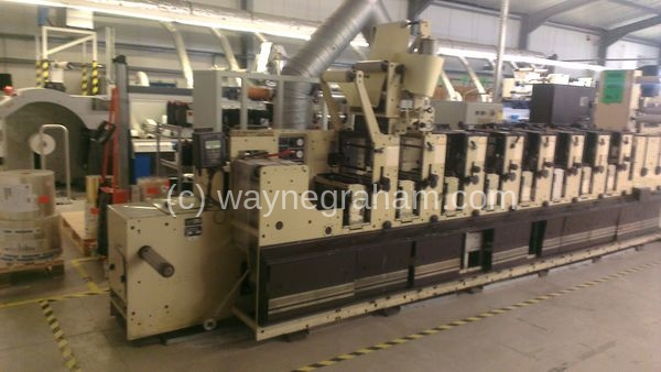 Image of Used Mark Andy 2200 Flexographic Label Web Press