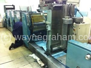 Image of Used Rotatek RK 200 Continuous Business Forms Web Press