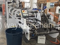 Image of Used Heidelberg Diana Pro 114 Folding Carton Gluer