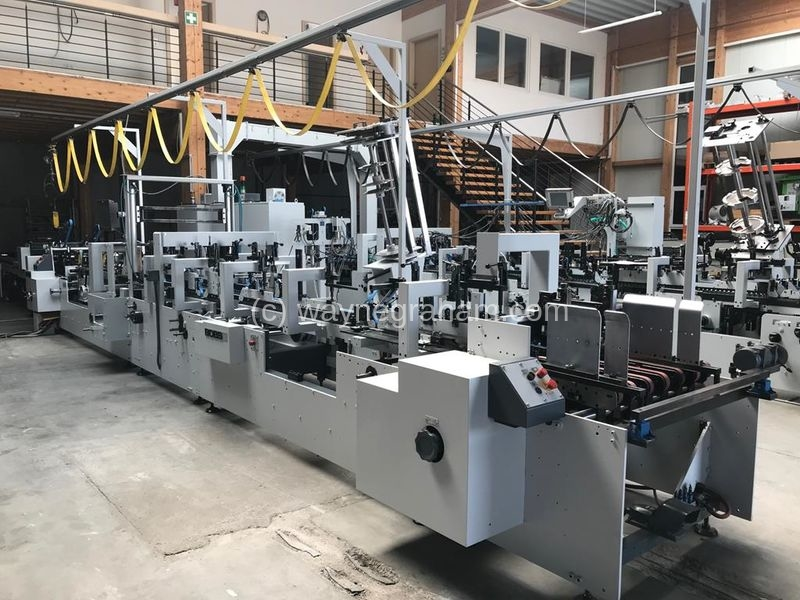 Image of Used Bobst Domino 90 A2 Folding Carton Gluer