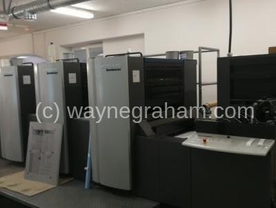 Bild von Gebrauchte Heidelberg Speedmaster SX 74-4 Vierfarbendruckmaschine