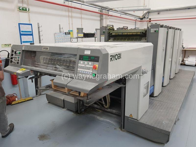 Bild von Gebrauchte Ryobi 754 vierfarbige Druckmaschine