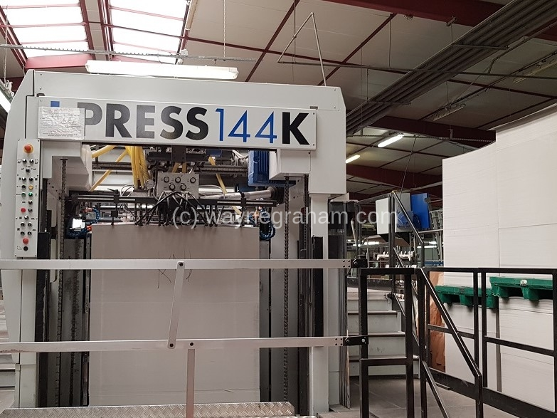 Image of Used Iberica I-Press 144 K Die Cutter With Stripping And Blanking Units