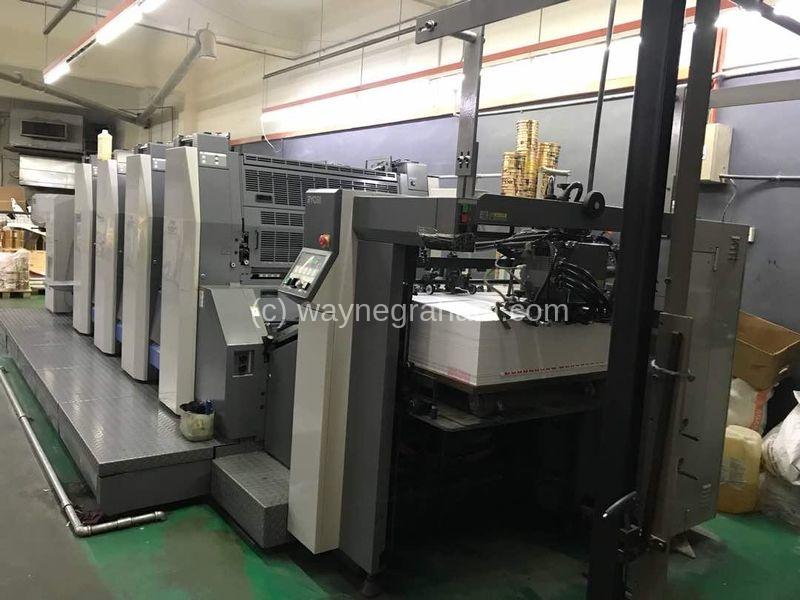 Bild von Gebrauchte Ryobi 924 vierfarbige Druckmaschine