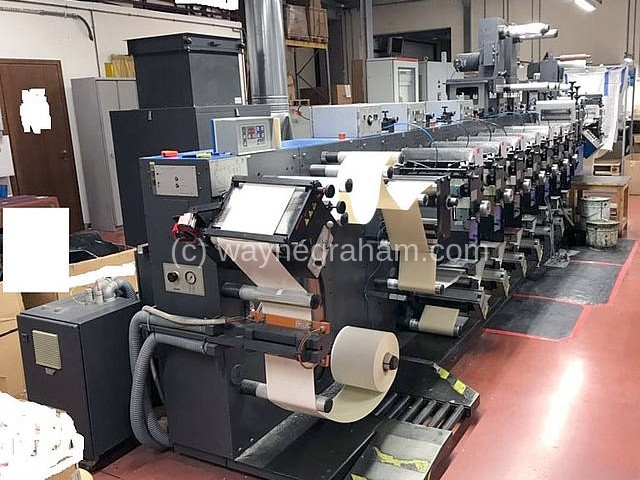 Image of Used Gallus EM 280 Label Web Press