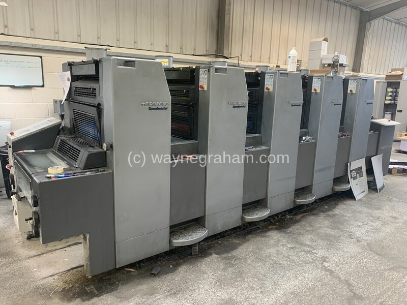 Image of Used Heidelberg SM 52-5 used printing press for sale