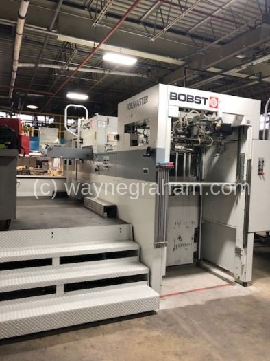 Image of Used BOBST SPeria Foilmaster 104 Hot Foiling machine for sale