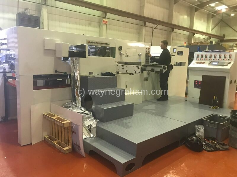 Image of MK 1050YMI Hot foiling machine for sale