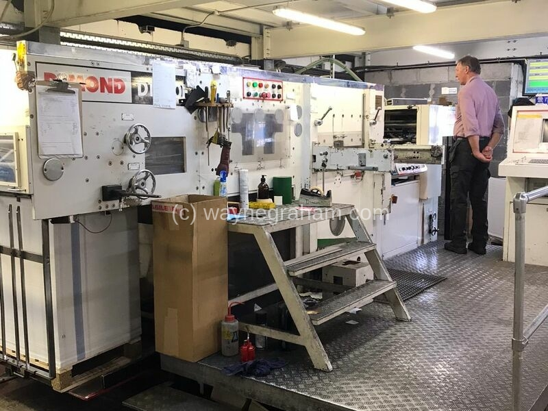 Image of Used Dimond 1020F Hot Foiler for sale