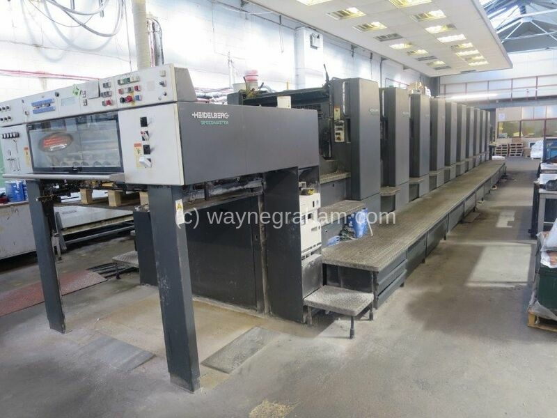 Image of used Heidelberg SM 102-10-P Printing Press