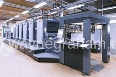 Image of used Heidelberg CX 102-5+L five color used printing and packaging machine for sale