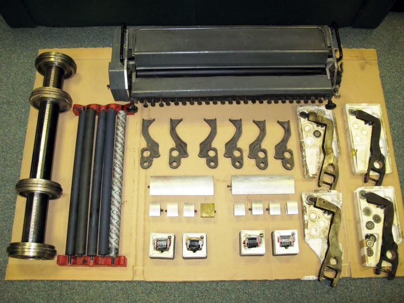 Image of Heidelberg Numbering And Perforating Unit For MO Model Printing Press